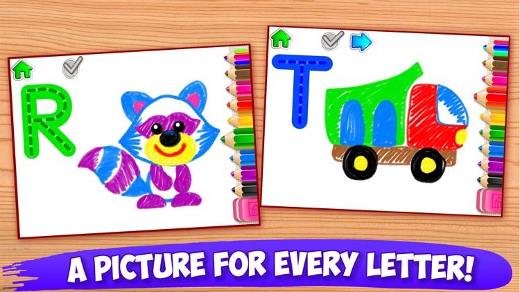 ABC Tracing Kids Drawing Games screenshot-3