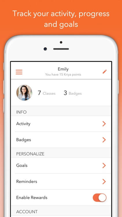 Track Yoga – A Simple Yoga App screenshot-3