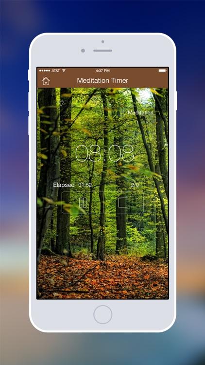Meditation Timer Pro screenshot-0