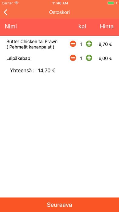 Pizza Service Kauniainen screenshot 4