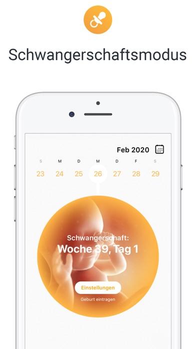 Screenshot for Flo - Menstruations-Kalender in Germany App Store