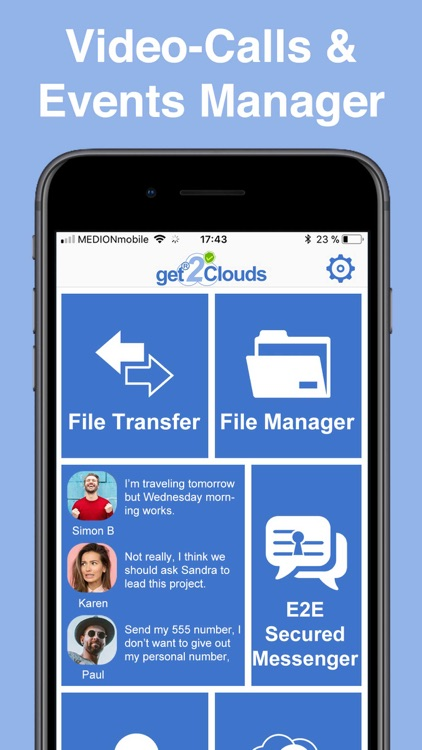 get2Clouds - The Privacy App screenshot-3