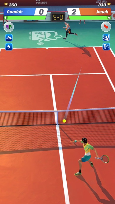 Tennis Clash:Game of Champions screenshot 2