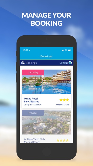 On the Beach Holiday App screenshot four