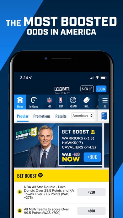 FOX Bet Sportsbook - Colorado screenshot 3