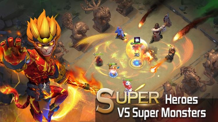 Clash of Zombies: Heroes Game screenshot-3