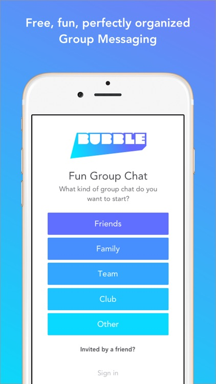 Bubble Group Messenger
