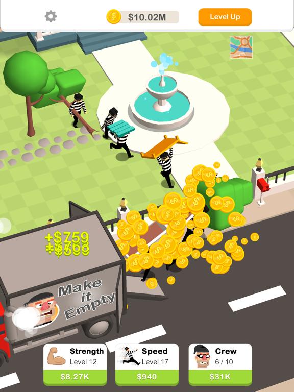 iPad Image of Idle Robbery