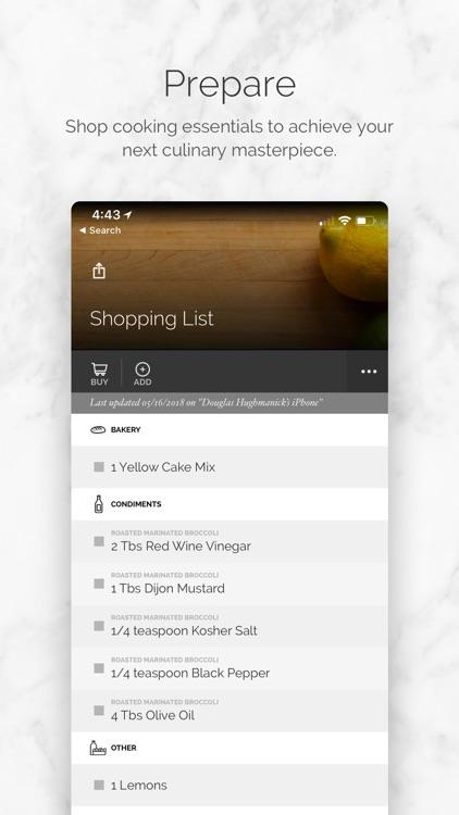Yummly Recipes + Shopping List screenshot-3