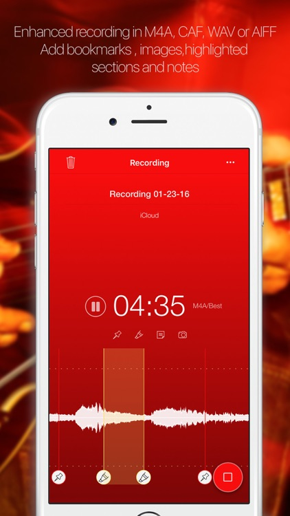 Audio player by iDoceo