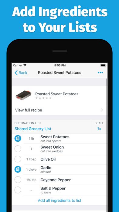 AnyList: Grocery Shopping List screenshot four