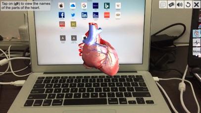 AR Human heart – A glimpse screenshot 1