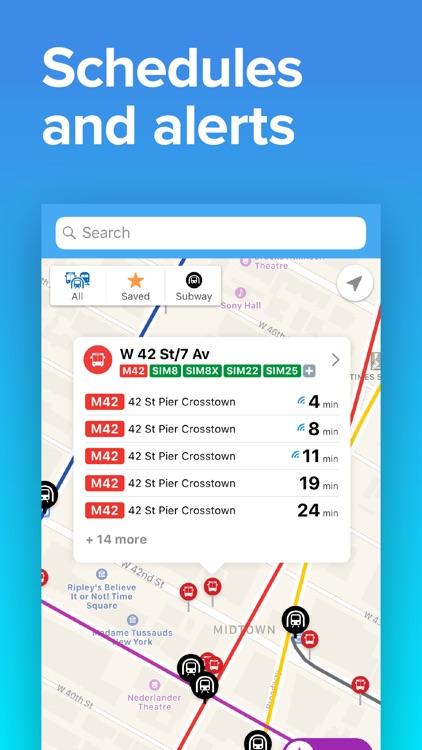 NYC Transit: MTA Subway & Bus screenshot-4