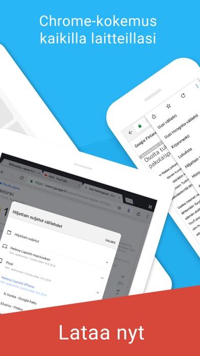 Screenshot for Chrome – Googlen selain in Finland App Store
