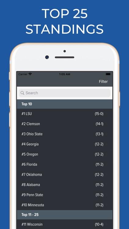Kansas State Football Schedule screenshot-5
