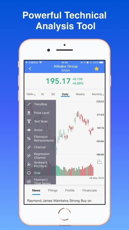 Penny Stocks - screener & map screenshot-3