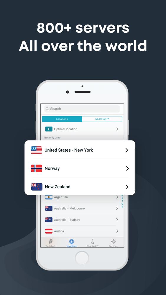 Secure Mobile VPN: Surfshark App for iPhone - Free Download Secure
