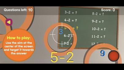 Math skills Subtraction -F.ver screenshot 3