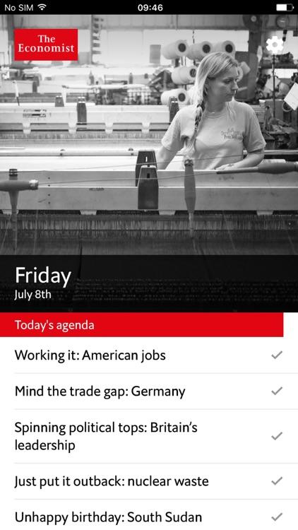 Economist Espresso screenshot-0