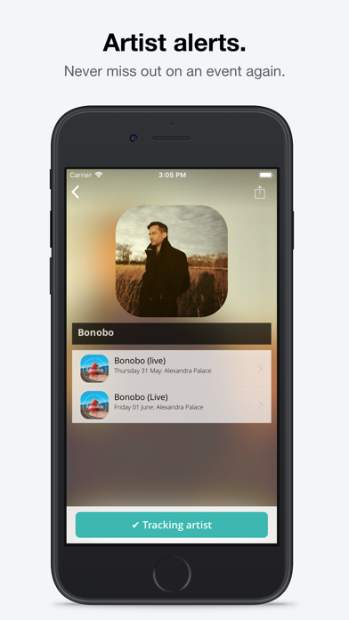 Screenshot #2 pour Skiddle: Events and Tickets