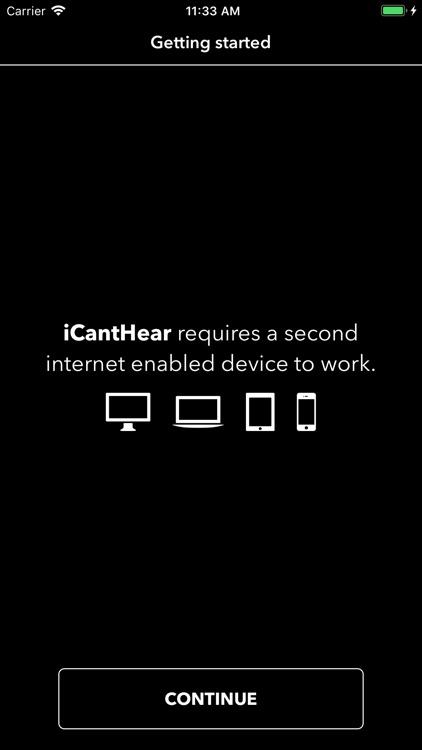 iCantHear screenshot-3