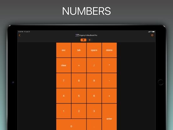 NumPad, KeyPad remote keyboard Screenshots