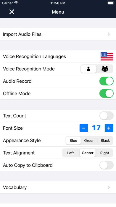 Voice Dictation - SpeechyScreenshot of 5