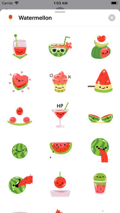 Summer Watermelon - Animated screenshot 2