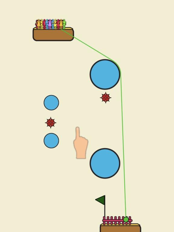 Rope Rescue! - Unique Puzzle screenshot 6