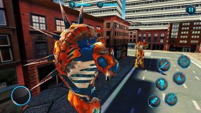 لعبة روبوت سيارة جت متعددةلقطة شاشة6