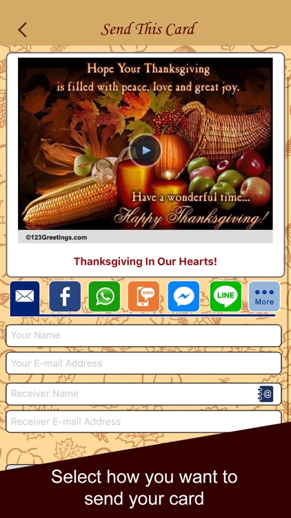 Thanksgiving Cards & Wishes screenshot-3