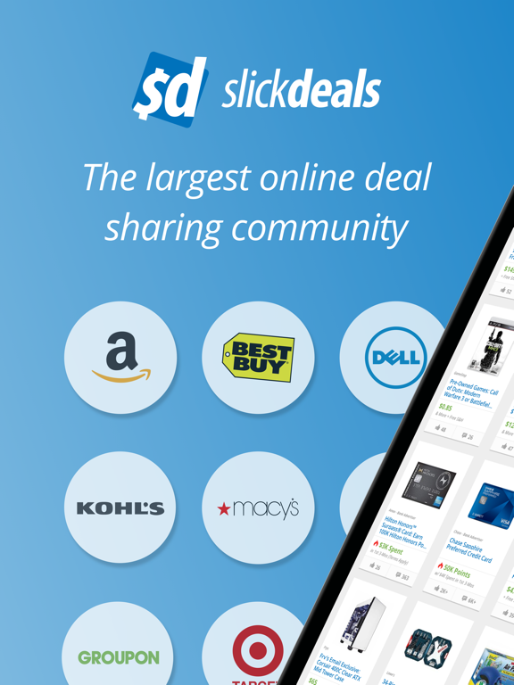 Slickdeals - Shopping App for Deals, Coupons, and Discounts screenshot