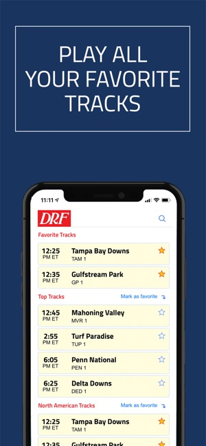 DRF - Horse Race Betting App on the App Store