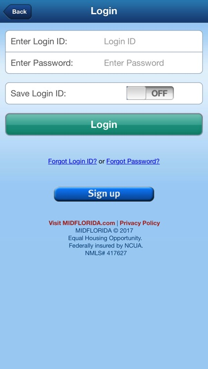 MIDFLORIDA Mobile Branch screenshot-1