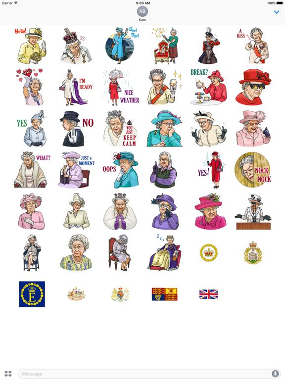 Our Queen Elizabeth II Sticker screenshot 4
