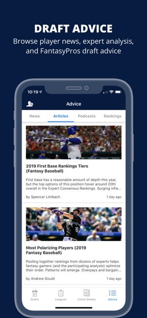 Fantasy Baseball Draft Wizard on the App Store
