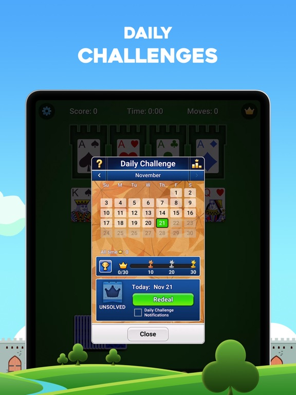 iPad Image of Castle Solitaire: Card Game