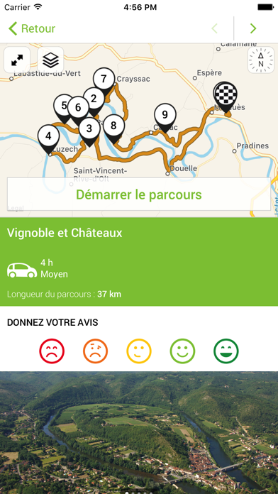 Circuits Lot et Dordogne screenshot four