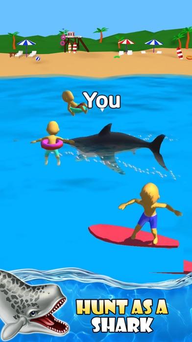 Shark Attack -Simulator games screenshot 1