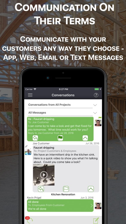 StatusRecap CRM Communication screenshot-5