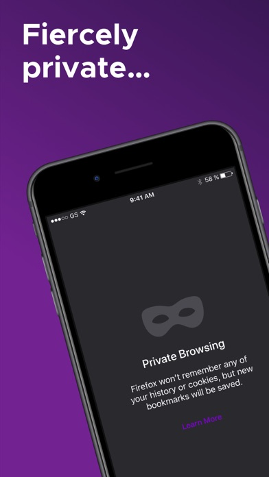Screenshot for Firefox: Private, Safe Browser in Denmark App Store