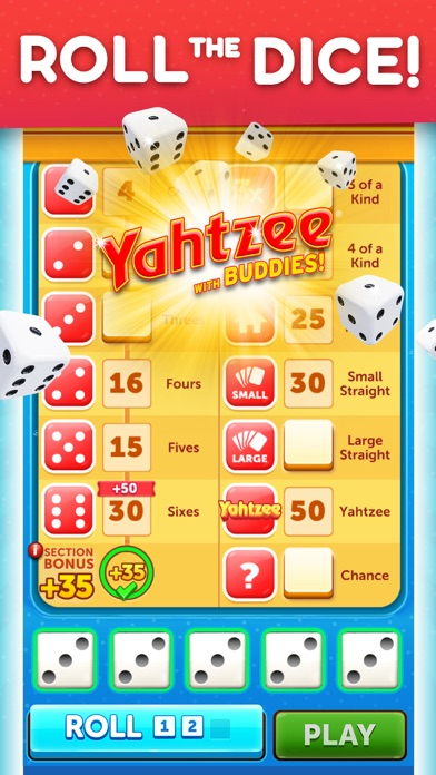 Yahtzee® with Buddies Dice Screenshot