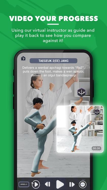 World Taekwondo AR Textbook screenshot-3