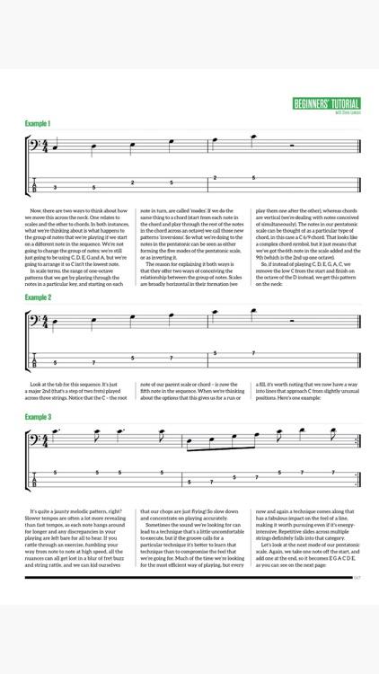 Bass: The Bass Guitar Magazine screenshot-9