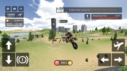 Flying Motorbike Simulatorのおすすめ画像2