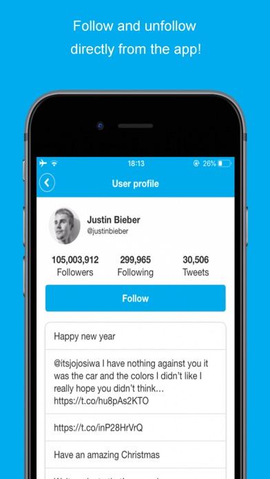Followers Analyzer for Twitter