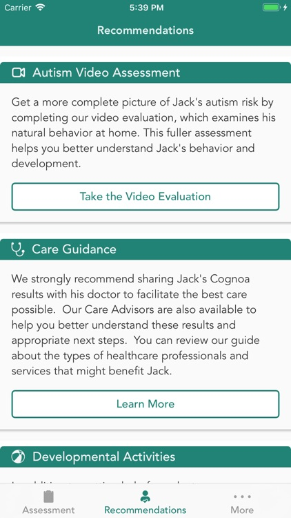 Cognoa for Child Development screenshot-5