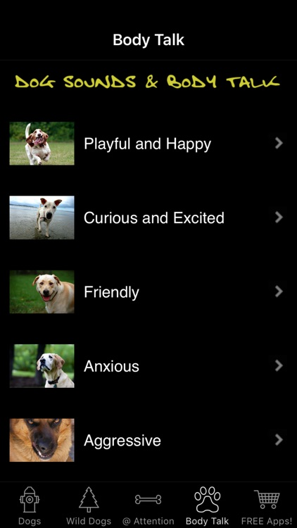 Dog Sounds & Body Talk screenshot-4