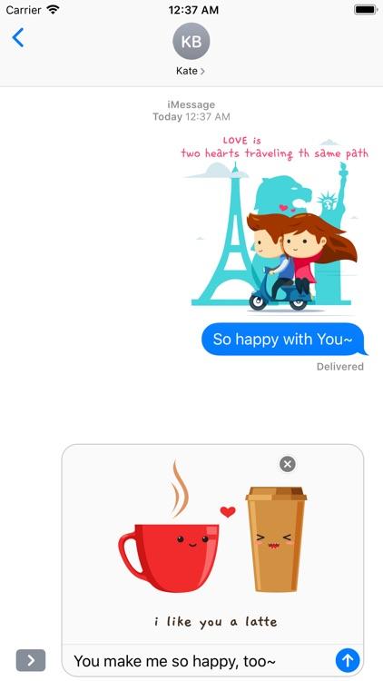 Love is... Romantic Message screenshot-4