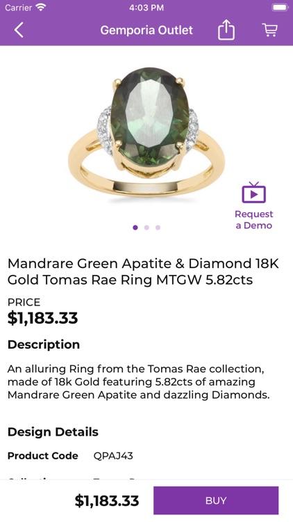 Gemporia Jewelry Auctions screenshot-6